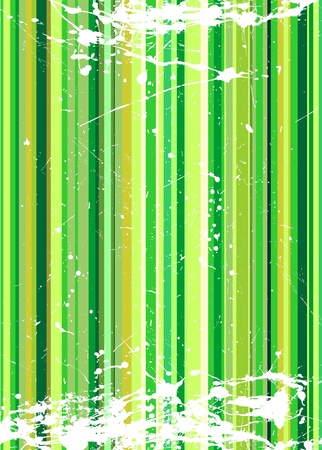 Grungy vector background illustration Stock Vector - 8974096