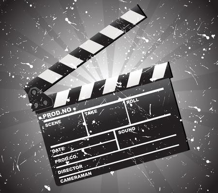 Film klepel boord
