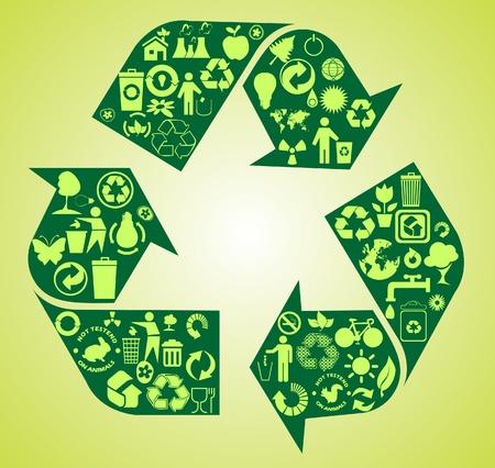 antipollution: environmental icons
