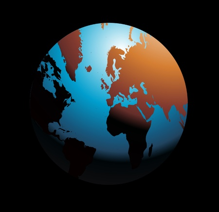 earth from space Stock Vector - 8971821