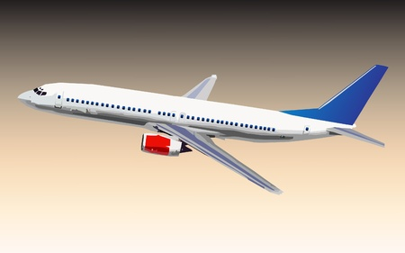 airplane engine: airplane  Illustration