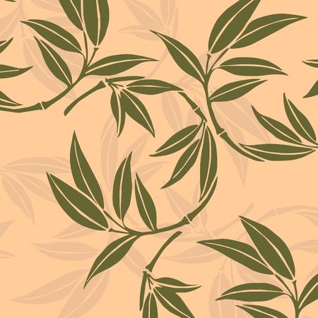 asian gardening: Bamboo leaves