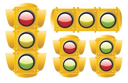traffic light Stock Vector - 8971816