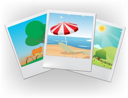 photo frames Stock Vector - 8973611