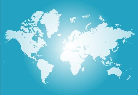 world trade: Mapa del mundo