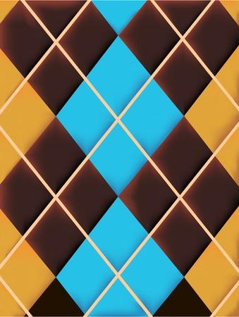 rhombus texture Vector