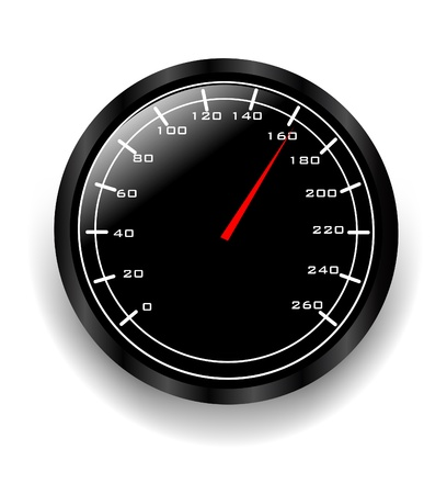 mile: Speedometer