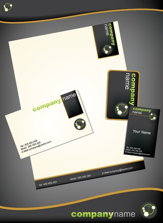 marca libros: Plantilla de empresas