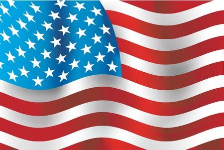 us grunge flag: USA flag