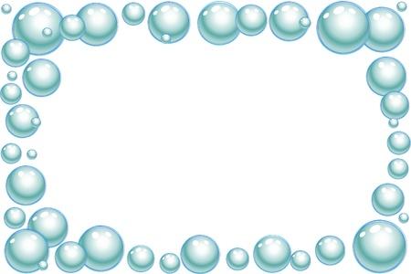 Vector illustration of blue bubbles Stock Vector - 8974310