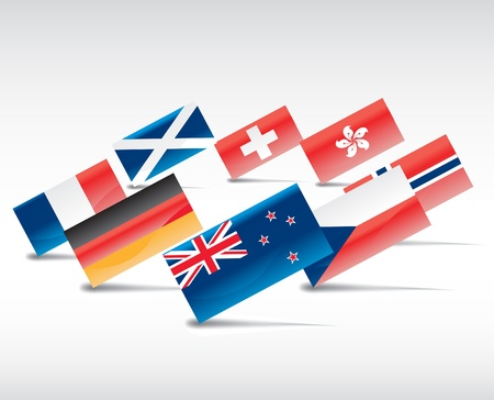 flags Stock Vector - 8974259