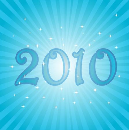 2010 new year Vector