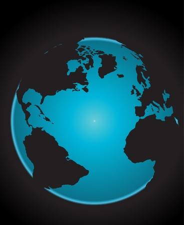 Vector Planet Earth Stock Vector - 8974209