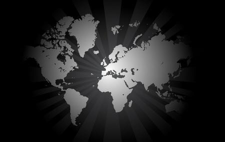 south east asia: sfondo mappa mondo Vettoriali