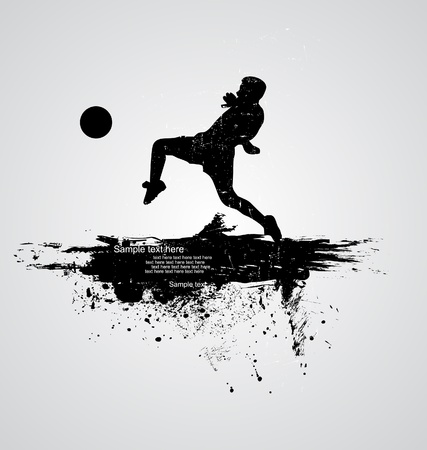 world cup: soccer player vector