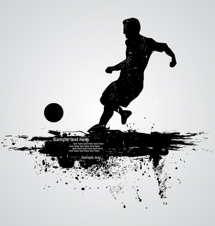 sparare: calciatore vettore