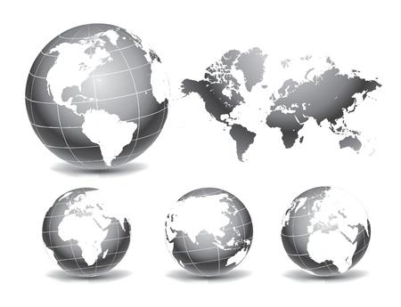 Globe of the World Stock Vector - 11551261