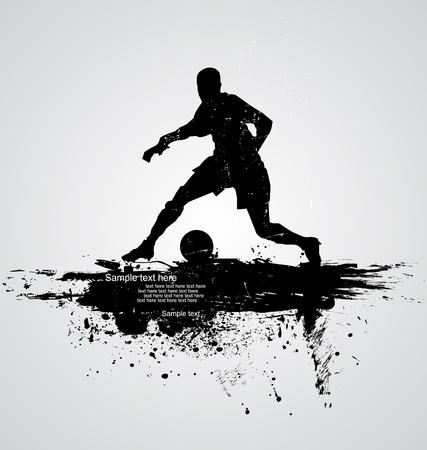 world player: soccer player vector