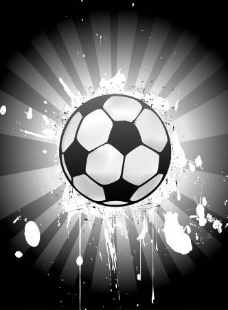 Vector voetbalwedstrijd ball Vector Illustratie