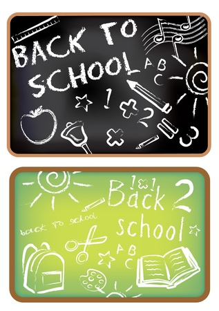 Back to school doodle Stock Vector - 11551264