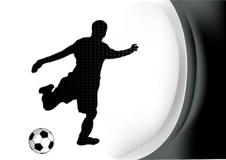 gamble: soccer player vector