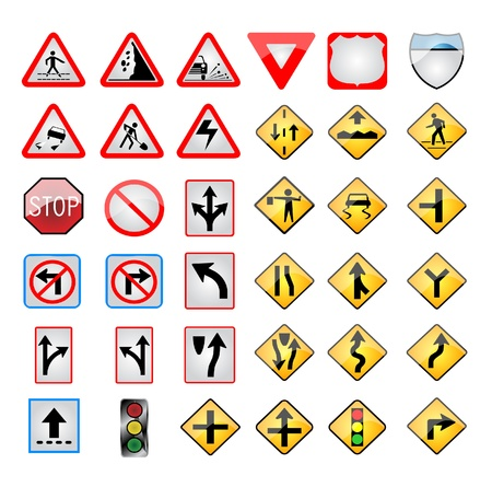 trafic stop: Trafic signs
