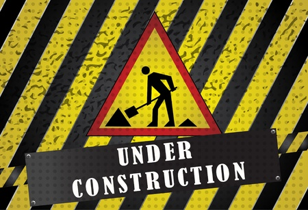 Under construction Stock Vector - 11551312