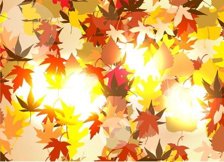 autumn background Stock Vector - 11551212
