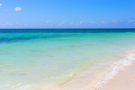 key of paradise: tropical beach in the Florida Keys Stock Photo