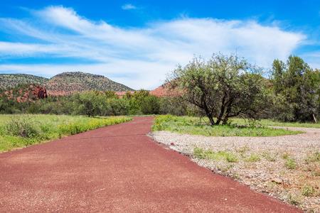 sedona: Landscape in Sedona Stock Photo