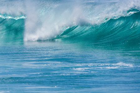 turqoise: Big Wave in the Ocean