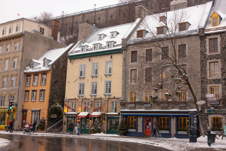quebec: Quebec city Stock Photo