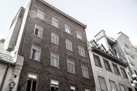 quebec: Old Building in Quebec Stock Photo