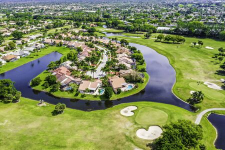 Boca Raton Florida, gated community
