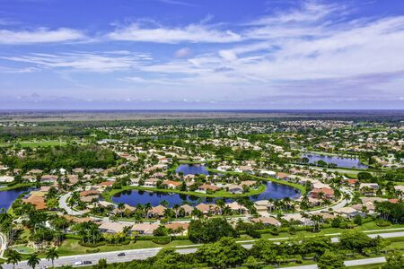 Boca Raton Florida, gated community