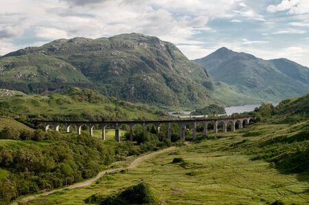 Eisenbahnbrücke des Glenfinnan-Viadukts, Schottland