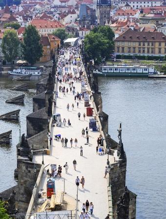 charles bridge: The Charles Bridge in Prague, Czech Republic