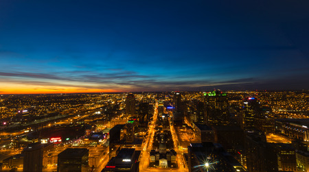 Sunset Over Downtown St. Louis