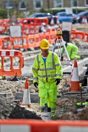 roadworks: Weymouth, Dorset, Roadworks as part of the improvement plan for Weymouth & Portland cause long hold-ups and disruptions for motorists Editorial