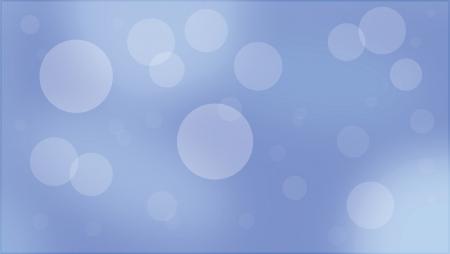 Blue Bubble Background Illusztráció