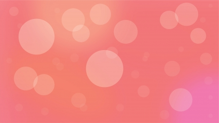 Red Bubble Background