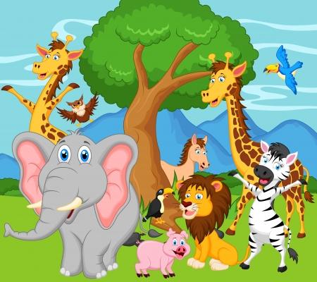 funny animal: funny animal cartoon