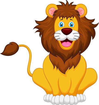 lion cartoon Stock fotó - 26074549