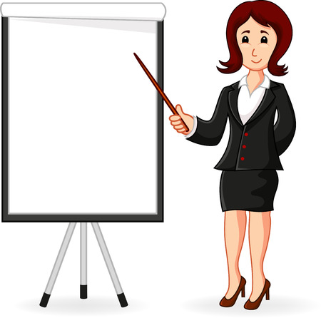 women standing holding a training  Vector