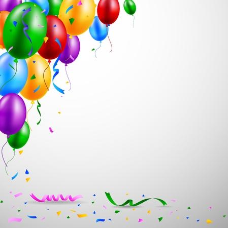 urodziny: Balon Ilustracja