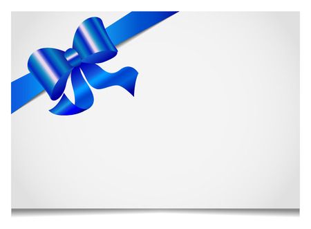 Gift cards and invitations with ribbons