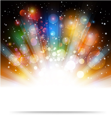 Soft colored abstract background Stock Illustratie