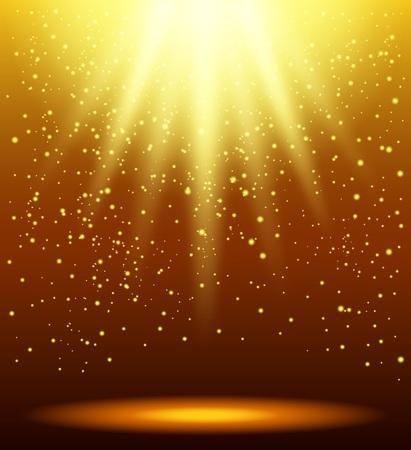 Astratto magica luce di sfondo