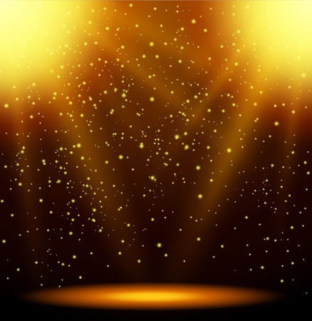 astral: Abstract magic light background Illustration