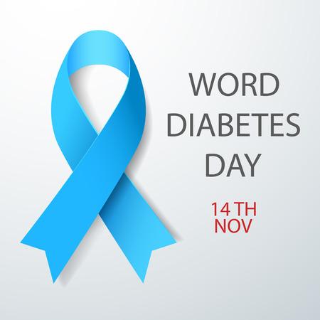 Vector illustration of World Diabetes Day Concept Vectores